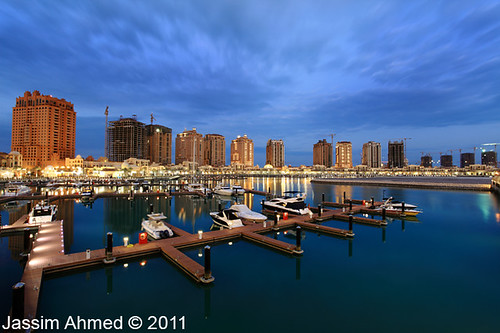 The Pearl-Qatar's marina