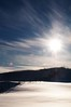 Winter Morning (ICT_photo) Tags: winter sun snow fence hills burst ictphoto ianthomasguelphontario