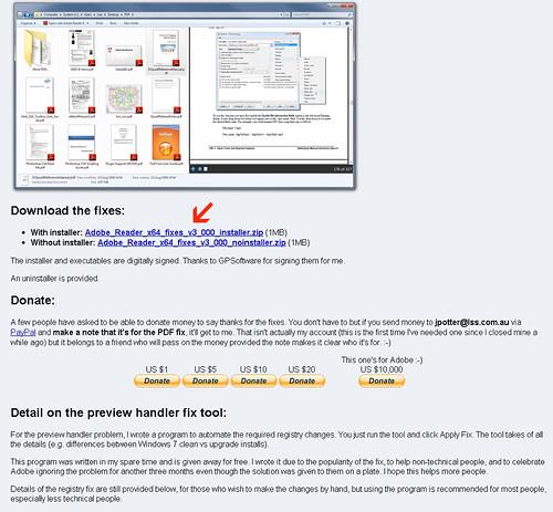 Adobe reader x64 fixes v3 001 installer zip : teczphomi
