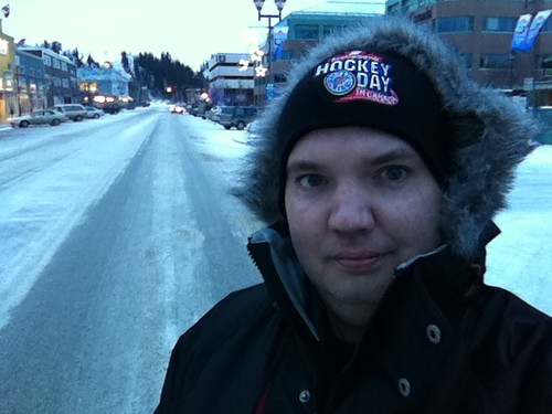 Me in Whitehorse