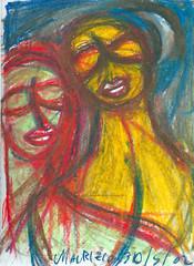 28 (maurizio siani) Tags: 2002 opera colore arte quadro disegni colori amore disegno olio artistico volti segni colorati espressione colorato pastello pastelli artistici cartoncino cartoncini