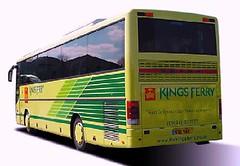 Ex Bebbs Setra (peterthebus) Tags: ferry kings the