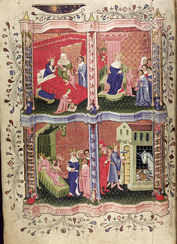 002-folio 2 versoT-he Romance of Alexander - MS. Bodl. 264 © Bodleian Library-University of Oxford 1999