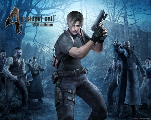games wallpapers hd. Resident Evil 4 Game Wallpaper