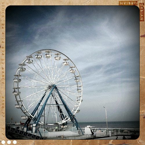 Ferris wheel in Daytona