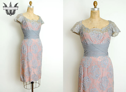Vintage 1950s Dress from Adorevintage.com