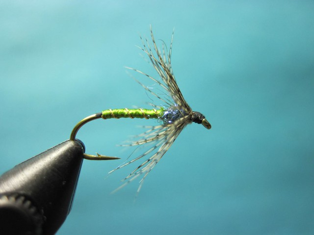 Partidge and Olive Ice Dub Soft Hackle