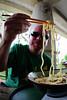 Summer Soba (okirob photo) Tags: akajima japan okinawa soba eating food hashi noodles robertmallon