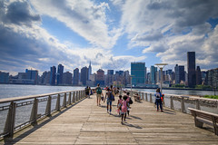 Long Island City Dock (Jemlnlx) Tags: canon eos 5d mark iv 4 5d4 5div new york city ny nyc queens borough long island east river fireworks firecrackers 4th fourth july 2017 macys macy display skyline empire state building esb