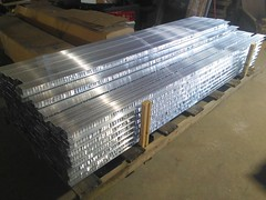 fresh cut notched vastec aluminum pool coping (vastecusa) Tags: fresh cut notched vastec aluminum pool coping we love smell morning smells likevictory poolcoping extrusion madeinamerica