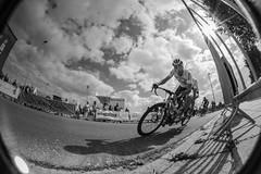 Turn (markvmn) Tags: cyclist peleng 8mm fisheye race bicycle black white turn world cup paracycling