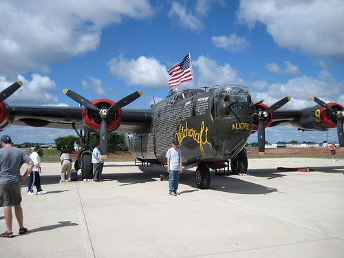 B-24J bomber Witchcraft