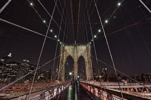 Spider-Man's Web: Brooklyn Bridge - New York City