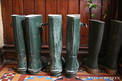 Ready and Welly (FreckledPast) Tags: ireland stilllife irish feet foot shoe shoes thing object details kerry killarney wellies item soles killarneynationalpark rainboots republicofireland rushers cahernane evinokeeffe e5v22i9n14cork cahernanehouse cahernanehotel pictureswithsole