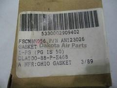 AN123026_1 (Dakota Air Parts) Tags: gasket dakotaairparts partnumberan123026 nsn5330002909402 rawpnan123026 niin002909402