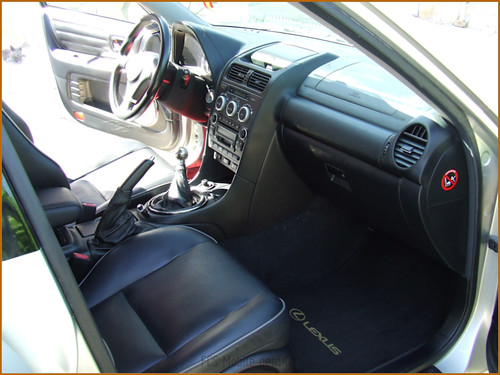 Detallado interior integral Lexus IS200-50