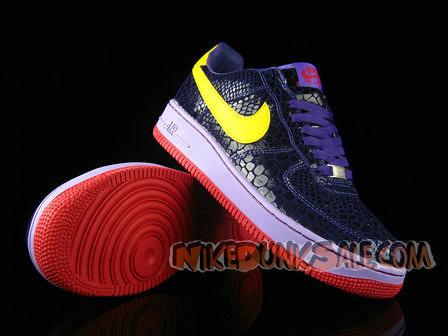 Nike-Air-Force-1-Low-Supreme-Eddie-Cruz-Purple-Croc by marjie5