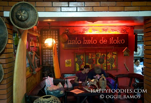 Inside Halo Halo de Iloko