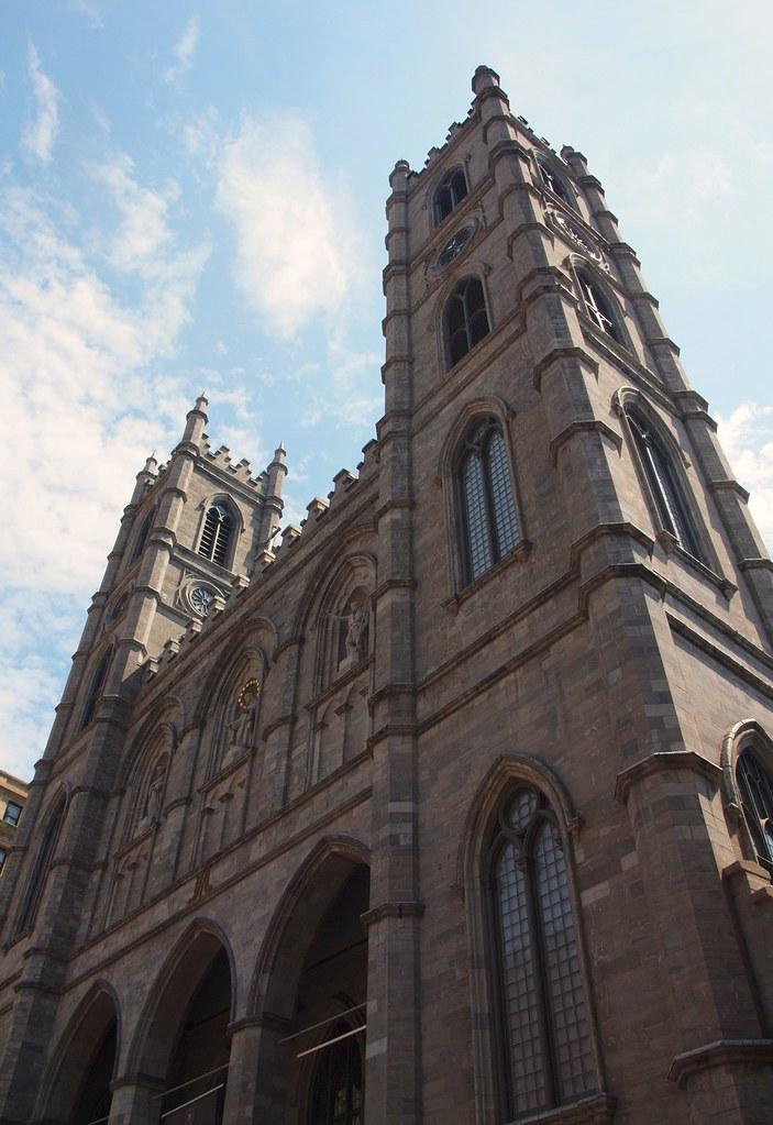 Montreal Notre Dame Basilica   1829