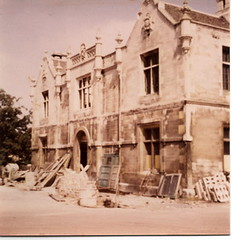 taken by my grandfather during conversion of East Station into 2 houses 1967/68
