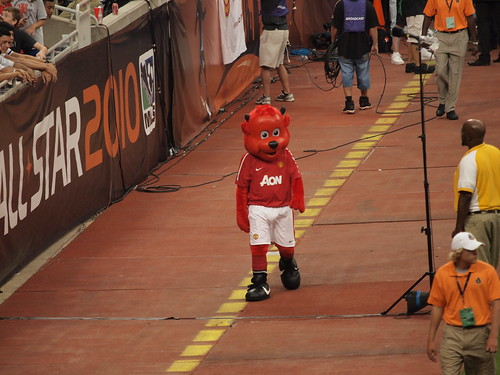 fred the red mascot