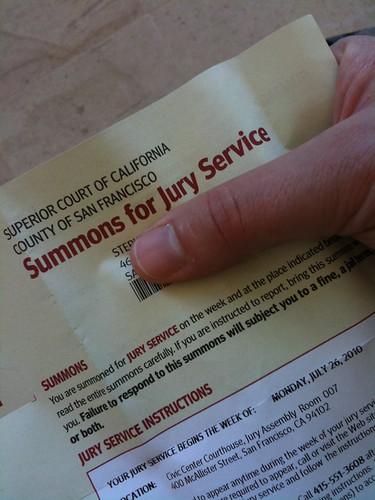 Irrefutable Proof (of jury duty)-hizKNITS