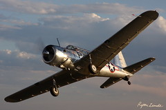 Vultee BT-13 (Champion Air Photos) Tags: airtoair vultee bt13