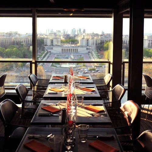 Restaurante 58 Tour Eiffel - Reprodução