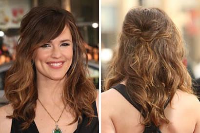 penteados simples fotos