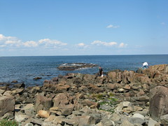The view from the Marginal Way path in Ogunquit