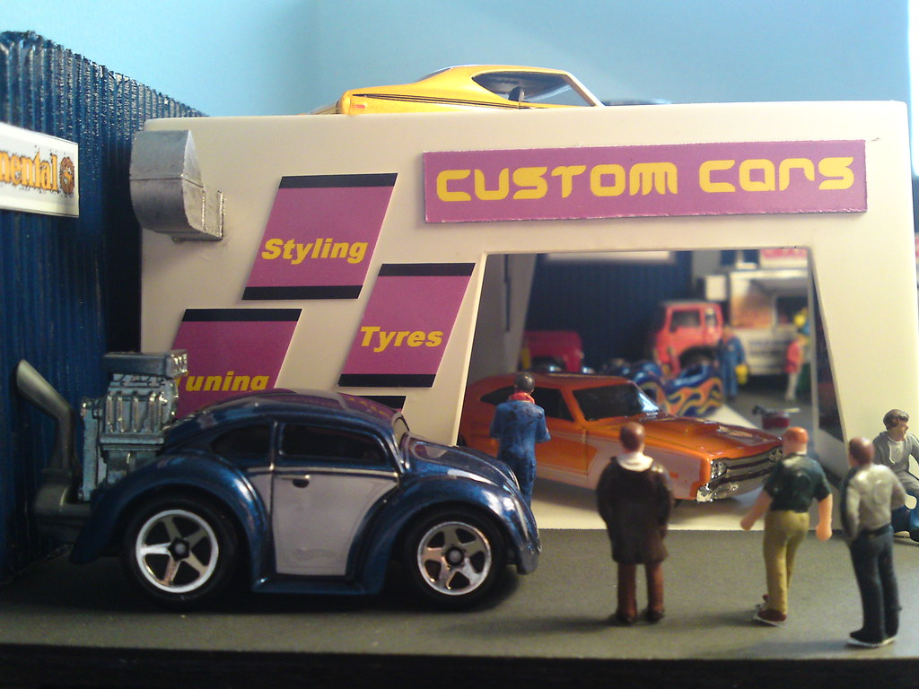 Hot Wheels Custom Volkswagen Beetle Hot Rod