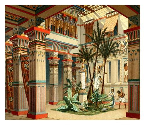 003- casa egipcia -Geschichte des kostüms in chronologischer entwicklung 1888- A. Racinet