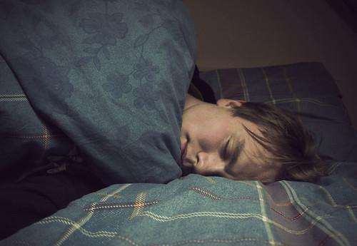 Odd sleeping
