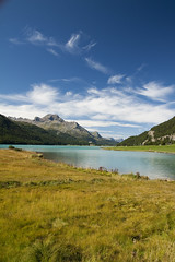 Silvaplana (Umberto Fistarol) Tags: summer mountain lake lago switzerland estate svizzera 2010 silvaplana eos50d fistarol