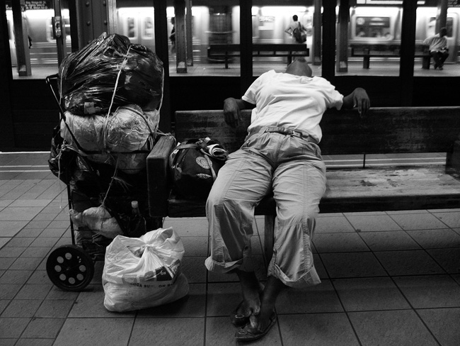 Homeless, 34th Street