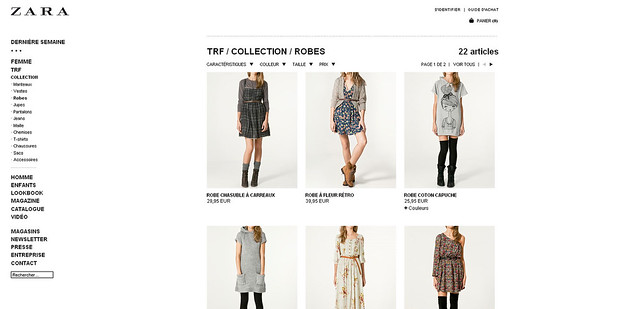 Catalogue Zara LookBook TRF Décembre 2014 Catalogue AZ