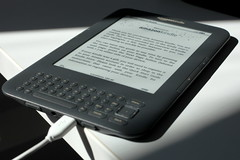 Kindle in direct sunlight: easy to read