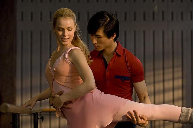 Amanda Schull and Chi Cao turn up the schmaltz in 'Mao's Last Dancer'.