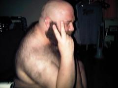 peace? (-T-RIG-) Tags: bear hair beard cub fat chub belly
