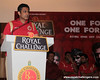 Anil Kumble speaks at the Royal Send Off