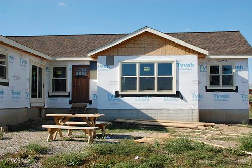 DIY House Addition: How To Properly Flash & Trim Windows - DIYdiva