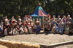 Royal Court (kuminiac) Tags: costumes festival dancers bellydancer fair dancer medieval fairy knights faire warriors fairies renaissancefestival juggler renfair joust performers gypsy renaissance renaissancefaire renfest jousting royalty gypsies jugglers bellydancers fae renaissancefair bonnersprings kansascityartinstitute