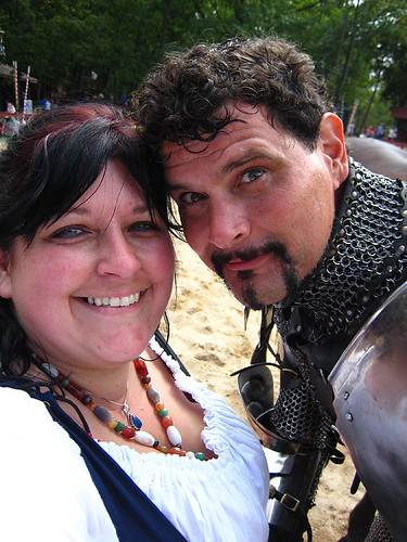 204 of 365- Me with a Knight in Shining Armor