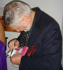 shoe signing