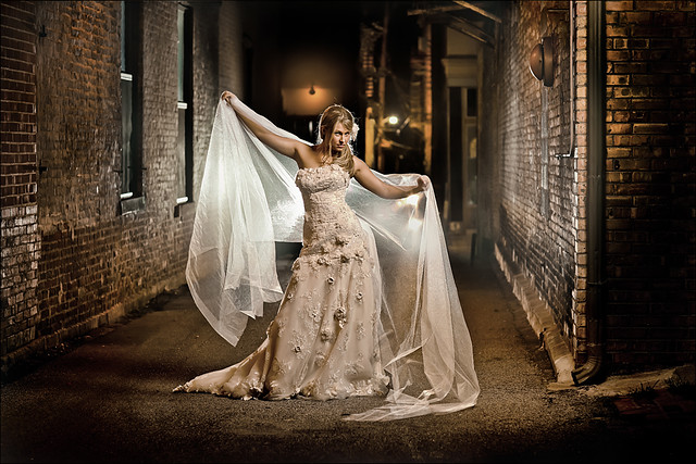 Kim Bridal ~ Bride in the Alley