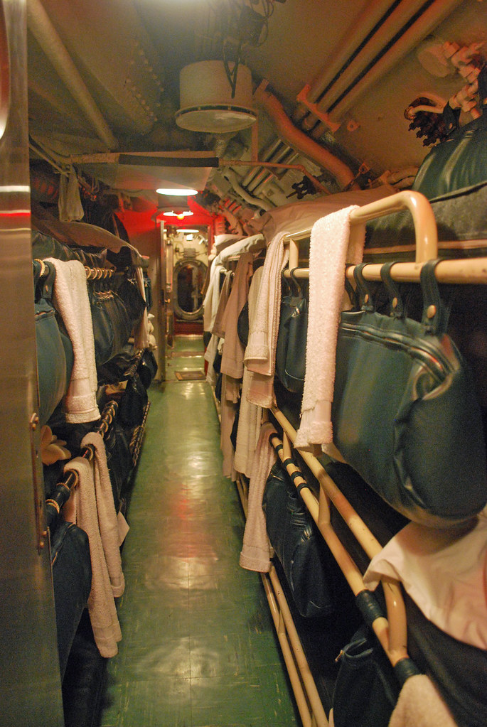 USS Cod Crews Quarters