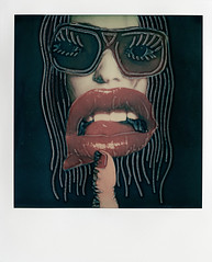 Polaroid. (Chad Coombs) Tags: art female analog polaroid photography photo hand time chad fine manipulation photograph concept conceptual expired zero coombs unscene unsceneart
