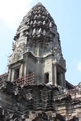 Angkor Wat corner tower