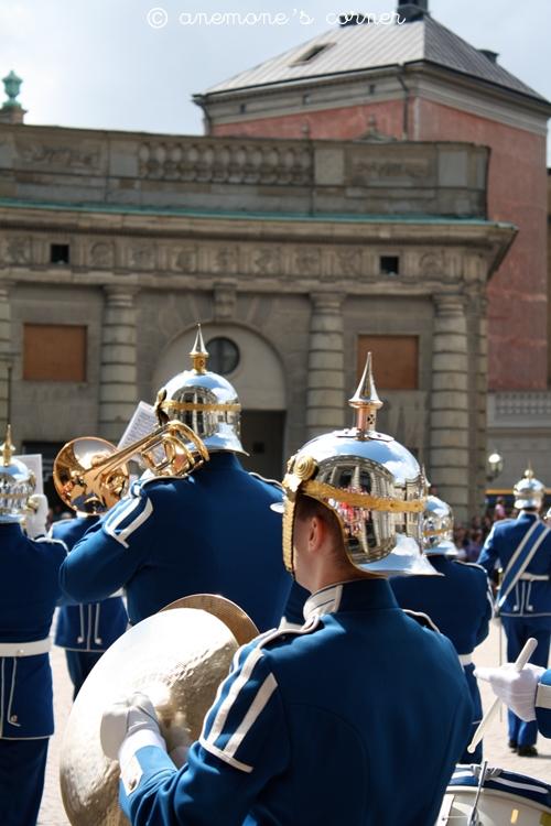 Stoccolma: il cambio della guardia..