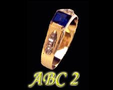 Anel Infantil ABC 2